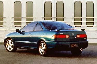 Most Popular Coupes of 1996 - 1996 Acura Integra