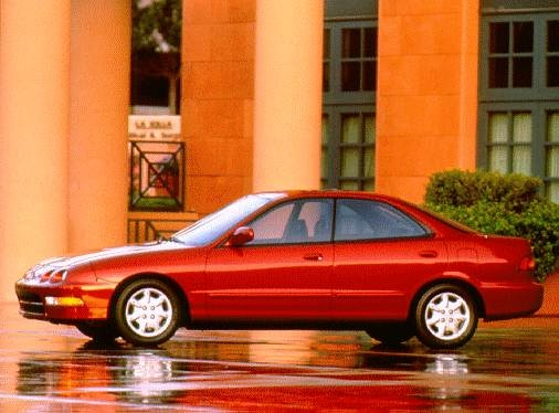 Top Consumer Rated Sedans of 1996 - 1996 Acura Integra