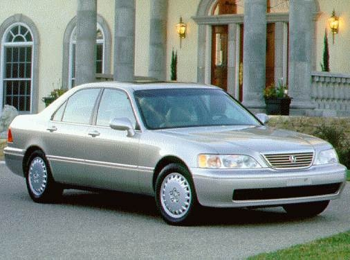 Top Consumer Rated Sedans of 1996 - 1996 Acura RL