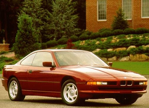 Top Consumer Rated Coupes of 1996 - 1996 BMW 8 Series