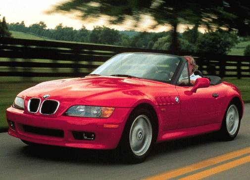 Most Fuel Efficient Convertibles of 1996 - 1996 BMW Z3