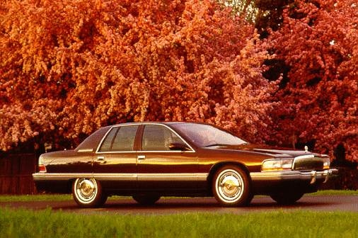 Top Consumer Rated Sedans of 1996 - 1996 Buick Roadmaster