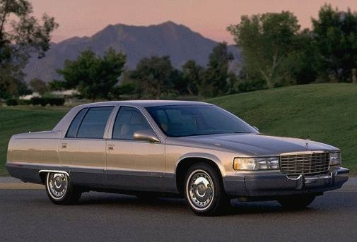 Top Consumer Rated Sedans of 1996 - 1996 Cadillac Fleetwood