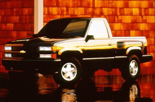 Most Popular Trucks of 1996 - 1996 Chevrolet 1500 Regular Cab
