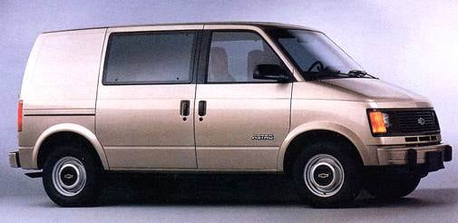 Most Popular Van/Minivans of 1996 - 1996 Chevrolet Astro Cargo