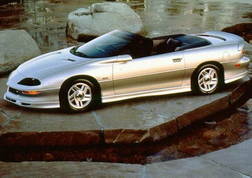 Most Fuel Efficient Convertibles of 1996 - 1996 Chevrolet Camaro
