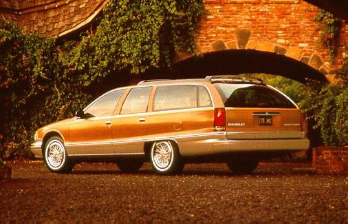 Top Consumer Rated Wagons of 1996 - 1996 Chevrolet Caprice Classic