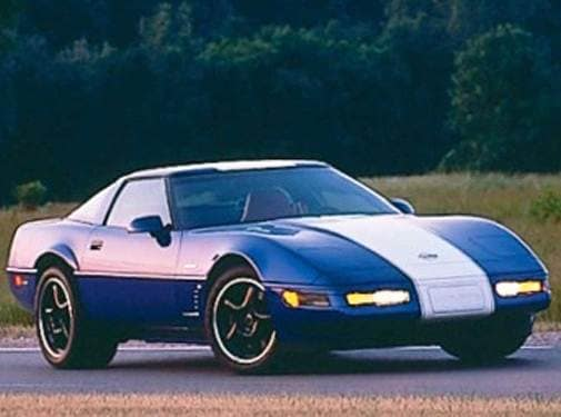 Highest Horsepower Hatchbacks of 1996 - 1996 Chevrolet Corvette