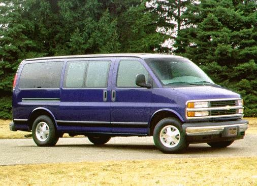 Highest Horsepower Van/Minivans of 1996 - 1996 Chevrolet Express 3500 Passenger