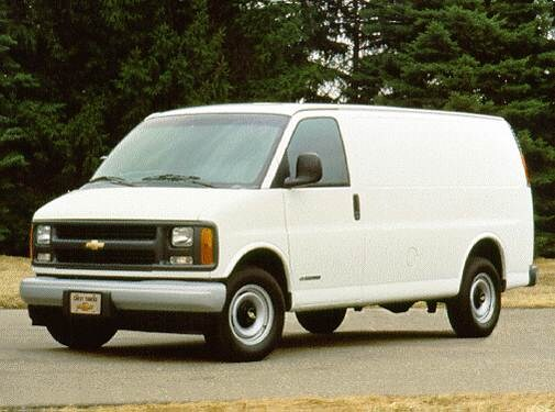 Highest Horsepower Van/Minivans of 1996 - 1996 Chevrolet G-Series 2500