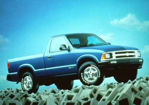 Most Popular Trucks of 1996 - 1996 Chevrolet S10 Regular Cab