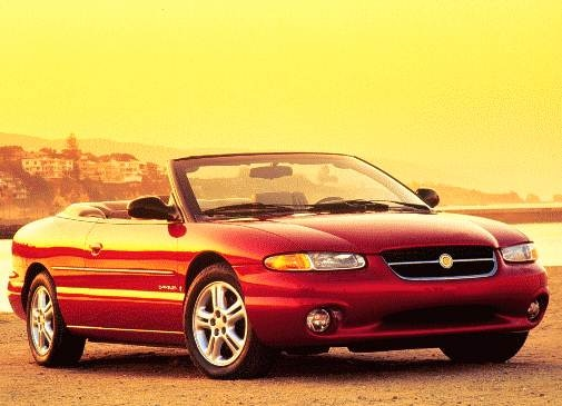Most Fuel Efficient Convertibles of 1996 - 1996 Chrysler Sebring