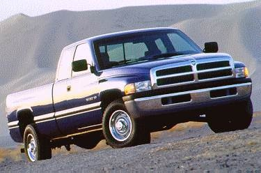 Most Popular Trucks of 1996 - 1996 Dodge Ram 2500 Club Cab