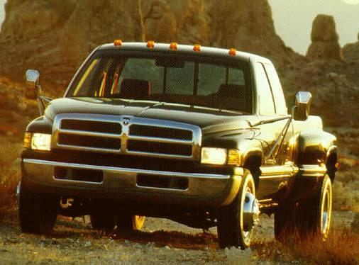 Most Popular Trucks of 1996 - 1996 Dodge Ram 3500 Club Cab