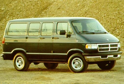 Highest Horsepower Van/Minivans of 1996 - 1996 Dodge Ram Wagon 3500