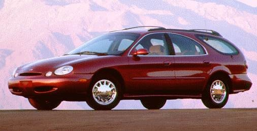 Highest Horsepower Wagons of 1996 - 1996 Ford Taurus