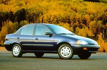 Most Fuel Efficient Sedans of 1996 - 1996 Geo Metro