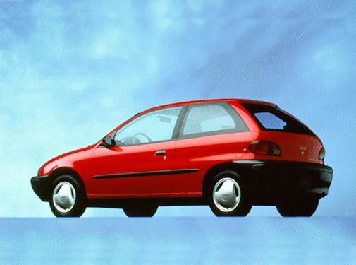 Most Fuel Efficient Hatchbacks of 1996 - 1996 Geo Metro