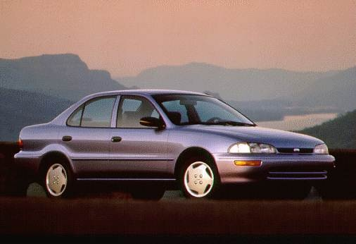 Top Consumer Rated Sedans of 1996 - 1996 Geo Prizm