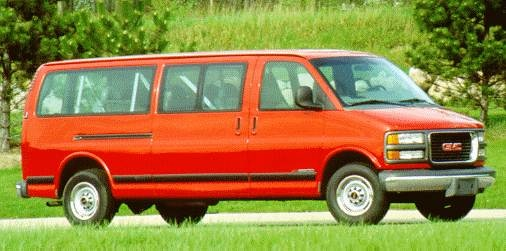 Highest Horsepower Van/Minivans of 1996 - 1996 GMC Savana 2500 Passenger