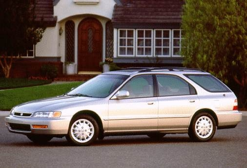 Top Consumer Rated Wagons of 1996 - 1996 Honda Accord