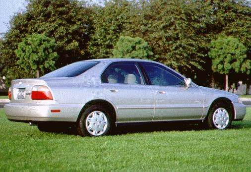 Most Popular Sedans of 1996 - 1996 Honda Accord