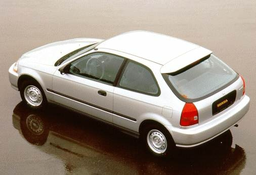 Most Fuel Efficient Hatchbacks of 1996 - 1996 Honda Civic