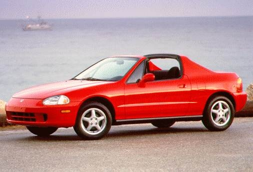 Top Consumer Rated Coupes of 1996 - 1996 Honda del Sol