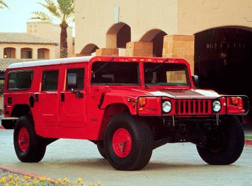 Top Consumer Rated Wagons of 1996 - 1996 HUMMER H1