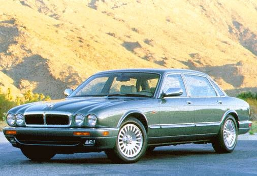 Top Consumer Rated Sedans of 1996 - 1996 Jaguar XJ