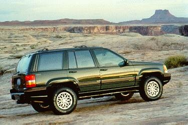 Most Popular SUVS of 1996 - 1996 Jeep Grand Cherokee