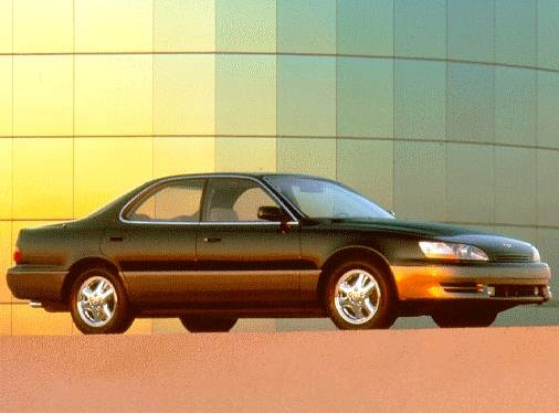 Most Fuel Efficient Luxury Vehicles of 1996 - 1996 Lexus ES