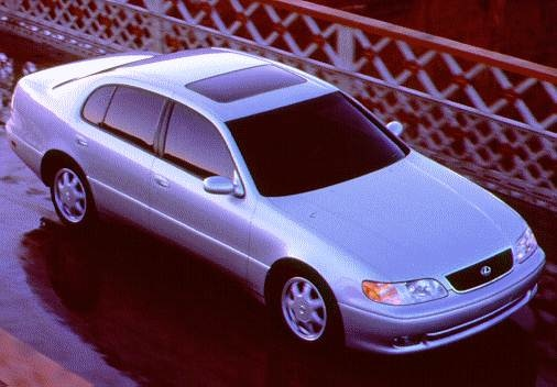 Top Consumer Rated Sedans of 1996 - 1996 Lexus GS