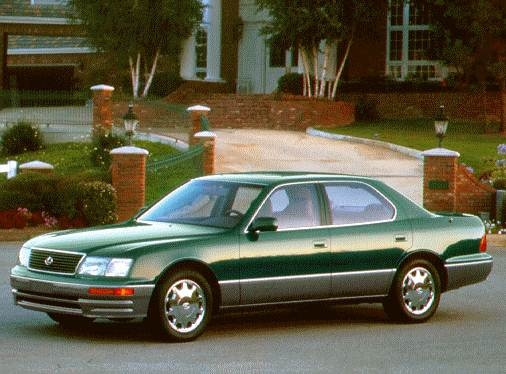 Top Consumer Rated Sedans of 1996 - 1996 Lexus LS