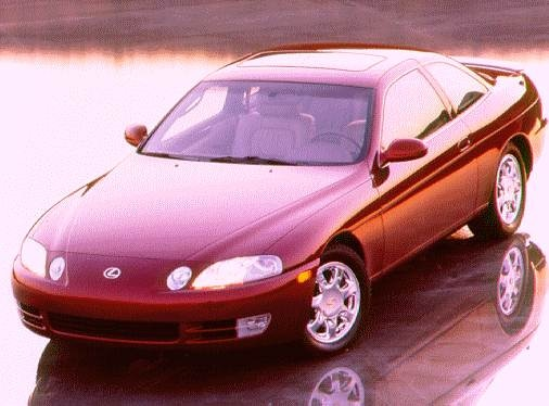 Top Consumer Rated Luxury Vehicles of 1996 - 1996 Lexus SC