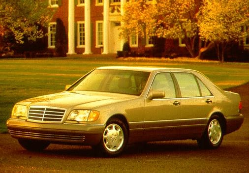 Highest Horsepower Luxury Vehicles of 1996 - 1996 Mercedes-Benz S-Class