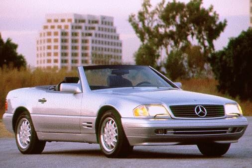 Highest Horsepower Luxury Vehicles of 1996 - 1996 Mercedes-Benz SL-Class
