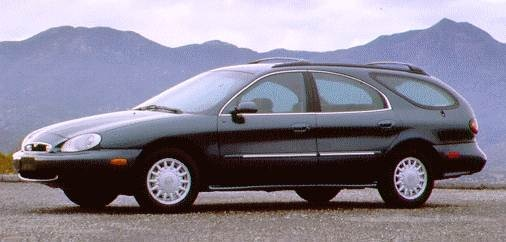 Highest Horsepower Wagons of 1996 - 1996 Mercury Sable