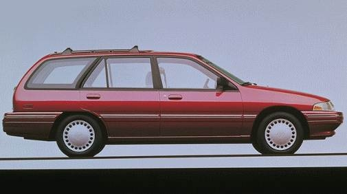 Most Fuel Efficient Wagons of 1996 - 1996 Mercury Tracer