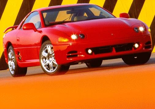 Highest Horsepower Hatchbacks of 1996 - 1996 Mitsubishi 3000GT