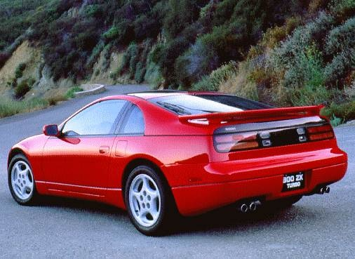 Highest Horsepower Hatchbacks of 1996 - 1996 Nissan 300ZX