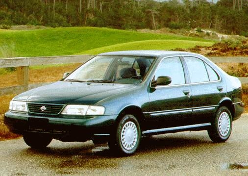 Most Fuel Efficient Sedans of 1996 - 1996 Nissan Sentra