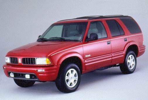 Most Fuel Efficient SUVS of 1996