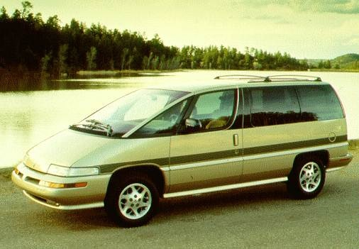 Most Popular Van/Minivans of 1996 - 1996 Oldsmobile Silhouette
