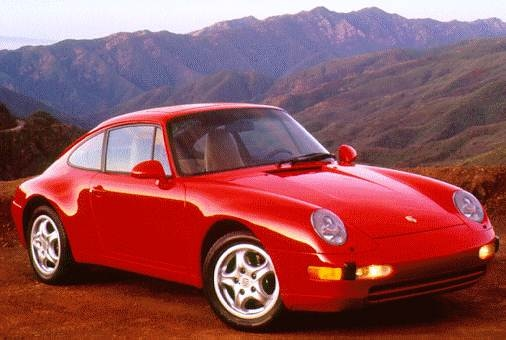Top Consumer Rated Luxury Vehicles of 1996 - 1996 Porsche 911