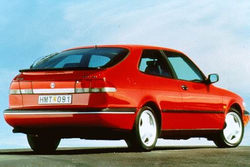 Most Fuel Efficient Luxury Vehicles of 1996 - 1996 Saab 900