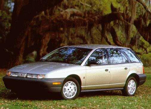 Most Fuel Efficient Wagons of 1996 - 1996 Saturn S-Series