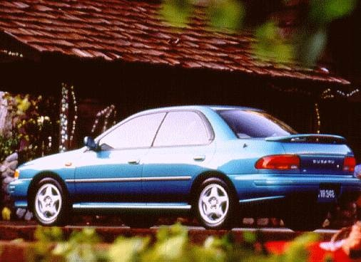 Top Consumer Rated Sedans of 1996 - 1996 Subaru Impreza