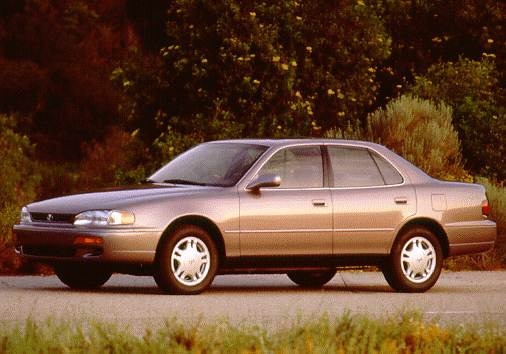 Most Popular Sedans of 1996 - 1996 Toyota Camry
