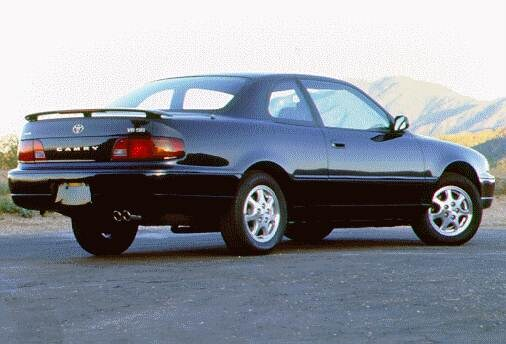 Most Popular Coupes of 1996 - 1996 Toyota Camry